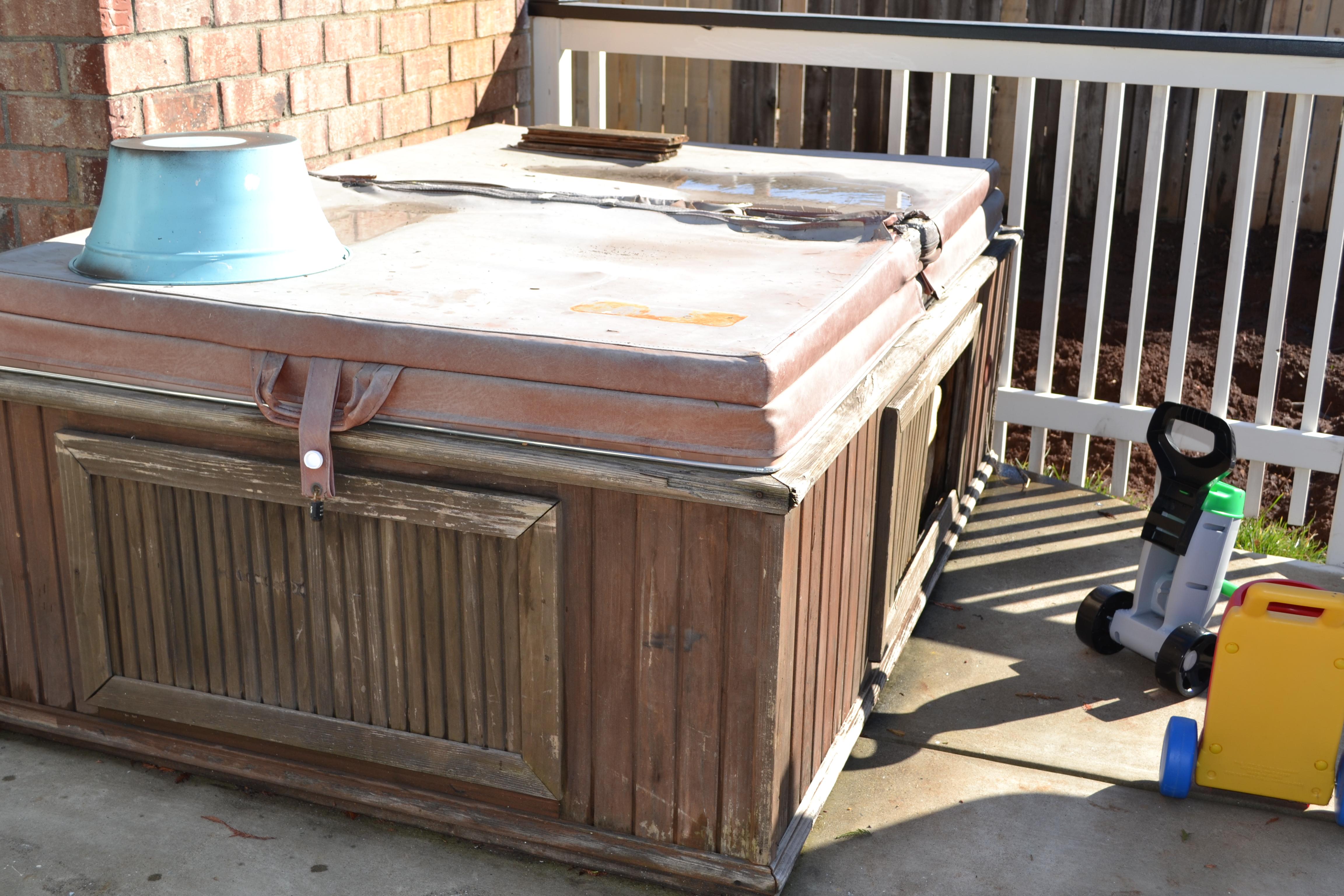 Hot Tub Resurrection | housematekate