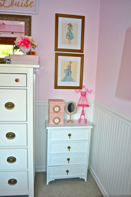Callie Doll Dresser