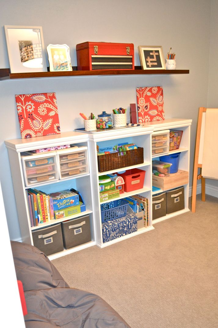 Playroom Bookcase